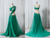 indian dress - Custom Green Prom Party Dresses Indian Sexy Fashion Ball New Chiffon Backless Cocktail Dresses Gown
