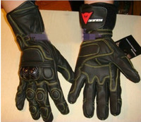 Wholesale Leather Dainese Gloves Motocross racing motorcycle glove motorbike long gloves