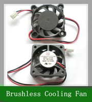 Wholesale 10PCS DC V DC Fans mm x mmx10mm Brushless Cooling Fan Blower s