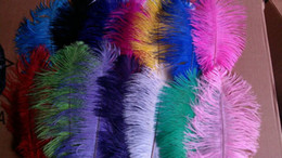 wholesale 100pcs lot 10-12 inch Ostrich Feather Wedding Centerpieces wedding party event supply decor feather decor