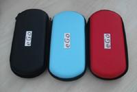 10pcs Ego sac e cig sacoche sacoche porte sacs sacs lanières fermeture à glissière pour ecigarettes e-cigarette ego-t ego-c ego-CE4
