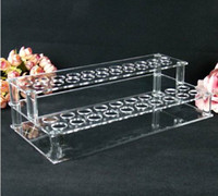 Wholesale 41 Acrylic Display lip oil the rack cosmetics frame penholder lipstick holder