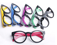 Wholesale Men and women type frames ball decorative personality glasses