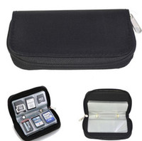 Wholesale Memory Card Storage Carrying Pouch Case Holder Wallet For CF SD SDHC MS DS