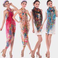 Wholesale Autumn and winter female fluid autumn silk scarf ultralarge ultra long scarf cape beach towel