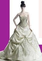 low price dresses - Fation Satin Low Price White High quality Satin amp Embroidery Wedding Dresses any size color
