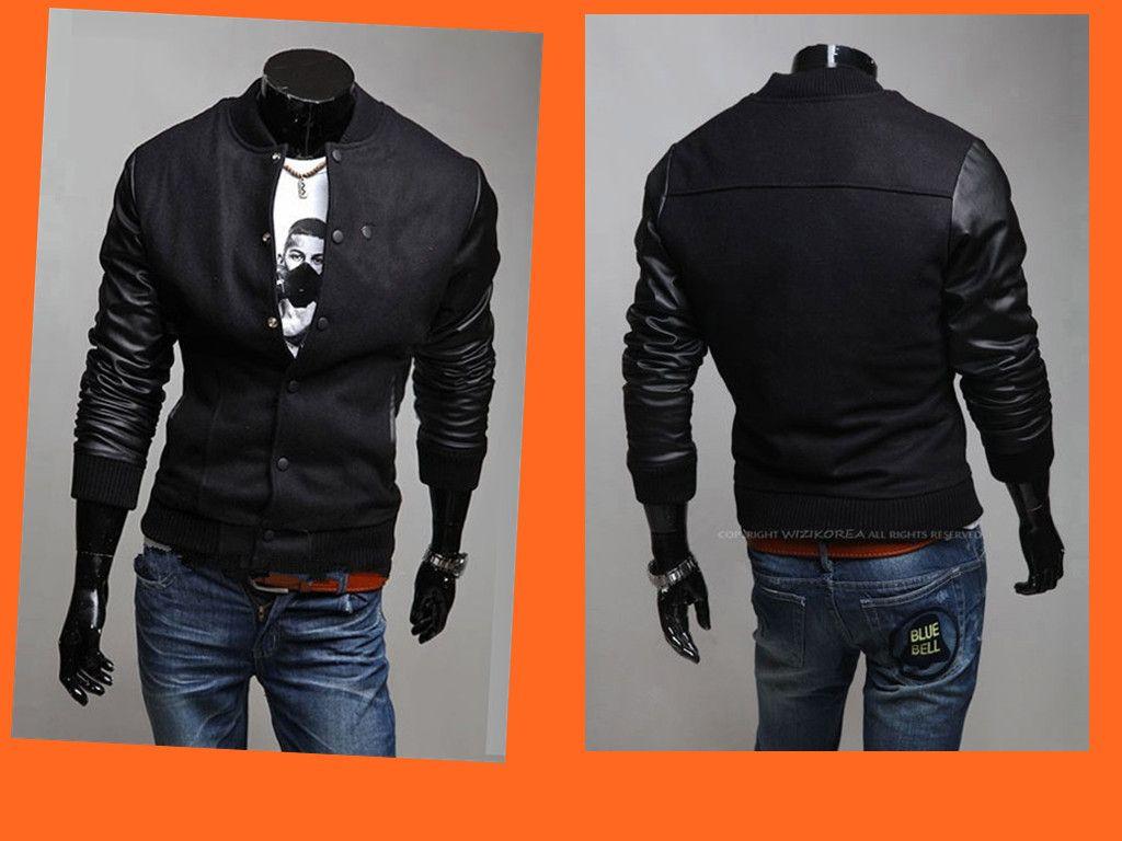 Brand Men Jackets Winter Men Jackets Baseball Jackets Winter ...