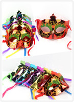 Wholesale 2012 Hot Sale Venetian Halloween Costume Party Masquerade Christmas Party Metal Female s Mask SQWJ41