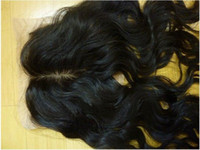 Wholesale quot amp retail brazalian remy lace top closure wavy hair extension