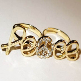Golden ring ring wedding ring cluster engagement ring Fashion Jewelry free shipping