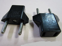 Wholesale US to EU Euro Plug Converter Travel Charger Adapter DHL Free