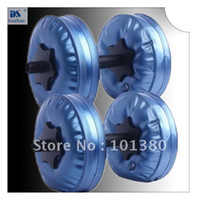Wholesale Gym dumbbells set Water Dumbbell have RoHS approved pairs by EMS