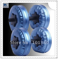 Wholesale Adjustable dumbbell stand Water Dumbbell have RoHS approved pairs by EMS