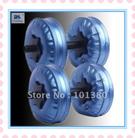 Wholesale by EMS Fitness dumbbells Adjustable kg Water Dumbbell have RoHS approved pairs