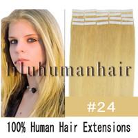 Cheap Straight human hair Best   tape hair