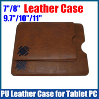 Wholesale 50PCS by DHL inch Soft PU Leather Case for quot MID Tablet PC iPAD Ainol Onda