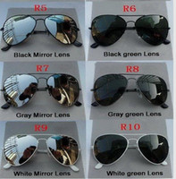 Wholesale NEW Mix order pink Mirror sunglasses Unisex sunglasses men Woman glasses Come With box