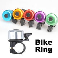 Horn   500 pcs lot Metal Ring Handlebar Bell Sound Alarm for Bike Bicycle