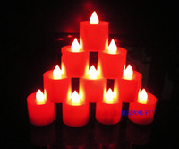 Wholesale Candle Light Flameless LED Tealight Tea Candles wedding birthday party decoration