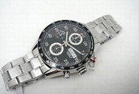 Men's automatic chronograph watches - LUXURY MEN S AUTOMATIC WATCH CALIBRE DATE BLACK DIAL CHRONOGRAPH MEN WRISTWATCH