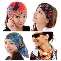 Wholesale Multifunctional scarf Outdoor Seamless bandana Magic multifunctional Turban fast