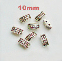 Wholesale 10mm DIY craft jewelry Tibetan silver fittings necklace bracelet jewelry necessary
