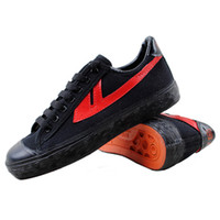 Unisex green shoelaces - Vintage WARRIOR shoes lovers sport shoes classic basketball shoes canvas shoes shoelace
