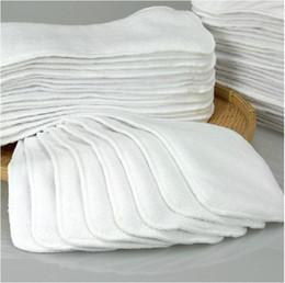 New Super Absorbent Bamboo Cloth Diaper Inserts Diaper Liners 10pcs lot