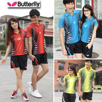 Wholesale 2012 badminton clothing men and women couples suite