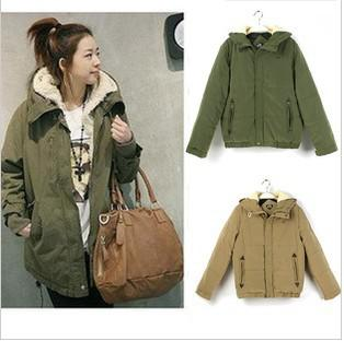 Free Shipping 2012Beautiful coat Practical clothes Faux fur lining