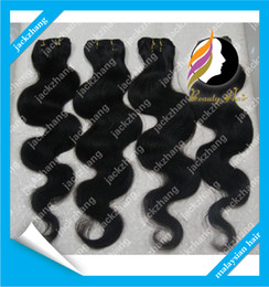 Wholesale 100g Malaysian Hair Weave Nautal Color Mixed Length Body Wave Human Hair