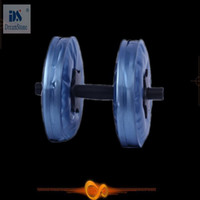 Wholesale by EMS adjustable dumbbell set Water Poured Dumbbell have RoHS approved pairs