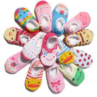 Wholesale Busha Anti skid Socks Baby boys girl sock stockings Sock booties pairs NEW