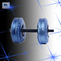 Wholesale by EMS soft dumbbell Water Poured Dumbbell have RoHS approved pairs