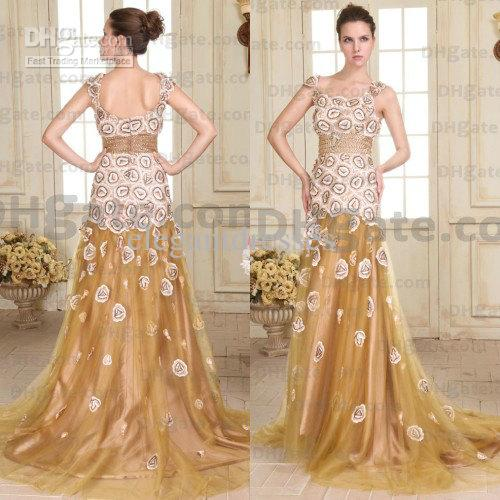 Wedding dress with gold beading – Dress ideas