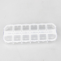 Wholesale 20pcs Compartmants Resin Storage Box Nail Art Organizer Display