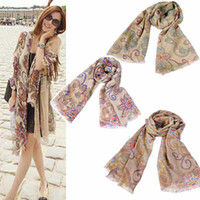 Wholesale New Style Woman restore ancient ways Cappa Nicewraps Long tippet Sunscreen scarves color