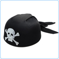 Wholesale Halloween Party Supplies Party Supplies Round pirate hat pirate captain cap g
