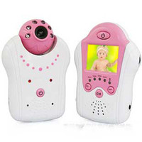 Wholesale 1 Wireless baby monitor channel night vision Ghz Wireless camera Wireless Security pink