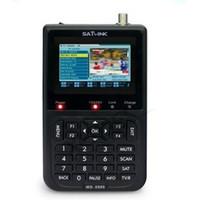 """venda por atacado satlink ws-6906-Original Satlink WS-6906 3.5"""" DVB-S FTA Satélite Digital, medidor de satélite Finder ws 6906 satlink"""