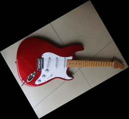 Newest model electric guitar Candy red aged China Guitar 0528