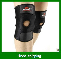 Wholesale New Trip Black Kneecap Stretch Elasticated Knee Brace Pad Men Kneepad Support Gifts