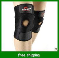 Wholesale New Trip Black Kneecap Stretch Elasticated Knee Brace Pad Men Kneepad Support Gifts