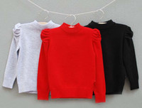 5T-6T 100-110-120-130-140 Girl Wholesale Girls Sweater Pullover Children Clothes Kids Clothing Autumn Girls Pullover Kid Wear