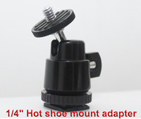 angle shoes - 1 quot Hot shoe mount adapter with adjustable angle pole