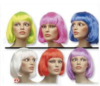 Wholesale 1PCS New Fashionable BOBO style cosplay Short Party Wig Wigs a113