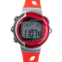Wholesale RED PULSE HEART RATE MONITOR CALORIE COUNTER SPORTS WATCH GA1010