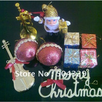 Wholesale Free S P bag Mix order Christmas tree decorations christmas gift Christmas Decorations