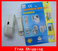 Wholesale Sample order Mini Wireless Magnetic Sensor Door Window Entry Safety Security Burglar Alarm Bell