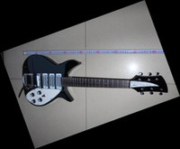 Wholesale New Specail small V69 Mapleglo electric guitar Black